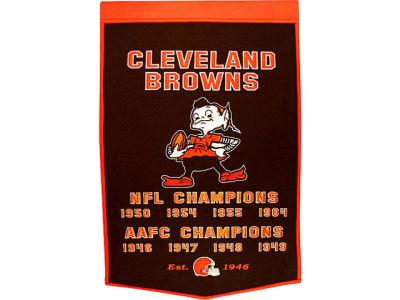 Cleveland Browns Winning Streak Dynasty Banner