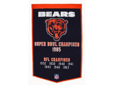 Chicago Bears Winning Streak Dynasty Banner