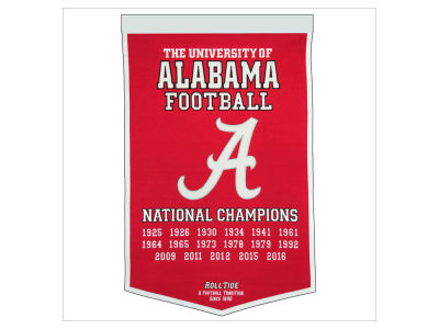 Alabama Crimson Tide Winning Streak Dynasty Banner