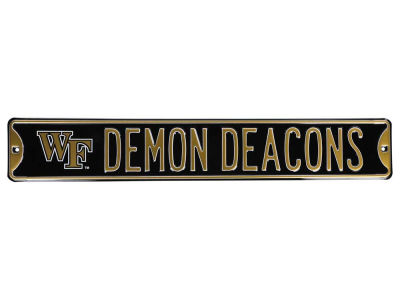 Wake Forest Demon Deacons Team Street Sign