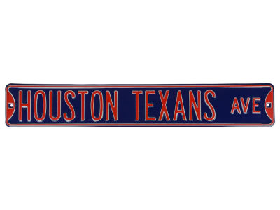 Houston Texans Authentic Street Sign Avenue