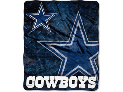 Dallas Cowboys 50x60in Plush Throw Roll Out
