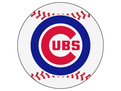 Chicago Cubs Baseball Mat