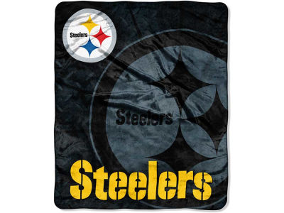Pittsburgh Steelers 50x60in Plush Throw Roll Out
