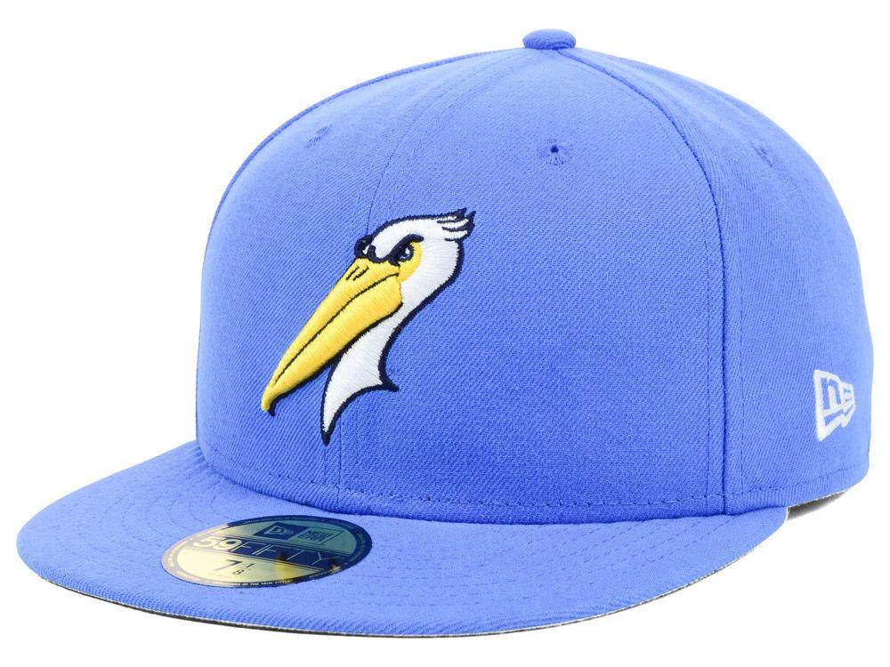 Myrtle Beach Pelicans New Era Milb Ac 59fifty Cap