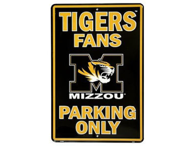 Missouri Tigers Parking Sign