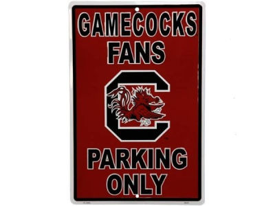 South Carolina Gamecocks Parking Sign