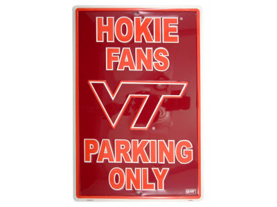 Virginia Tech Hokies Parking Sign