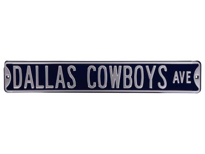 Dallas Cowboys Authentic Street Sign Avenue