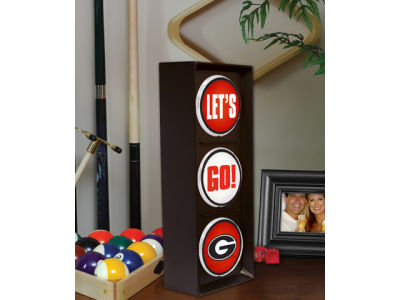 Georgia Bulldogs Flashing Lets Go Light