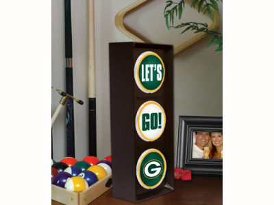 Green Bay Packers Flashing Lets Go Light