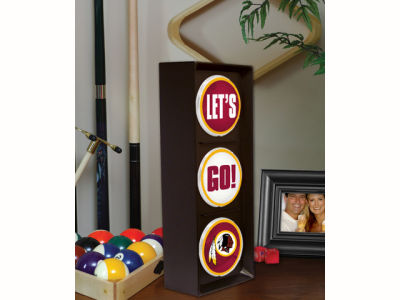 Washington Redskins Flashing Lets Go Light