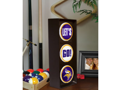 Minnesota Vikings Flashing Lets Go Light
