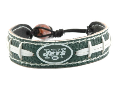New York Jets Team Color Football Bracelet
