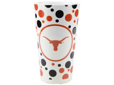 Texas Longhorns 15 oz Polka Dot Mug