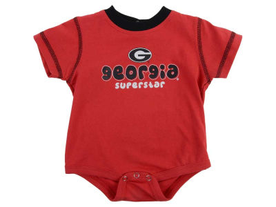 Georgia Bulldogs NCAA New Born 3PC Bodysuit Set