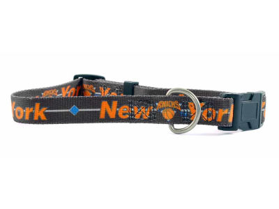 New York Knicks Medium Dog Collar