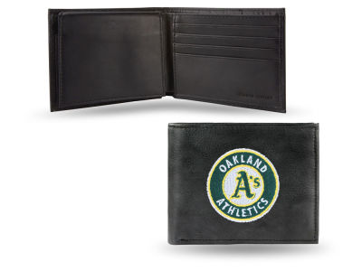 Oakland Athletics Black Bifold Wallet