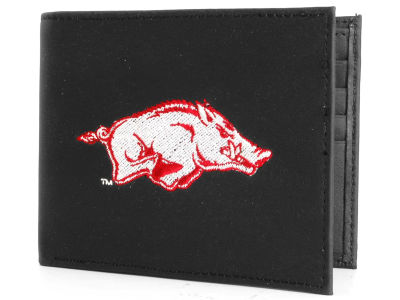 Arkansas Razorbacks Black Bifold Wallet