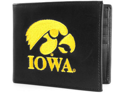 Iowa Hawkeyes Black Bifold Wallet