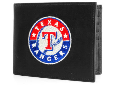 Texas Rangers Black Bifold Wallet