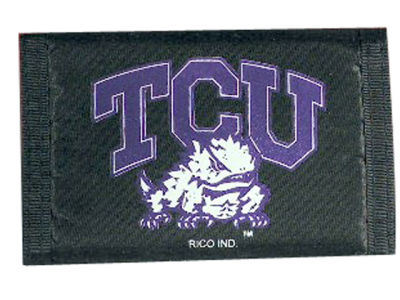 Texas Christian Horned Frogs Nylon Wallet