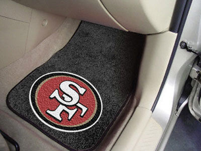 San Francisco 49ers Car Mats Set/2