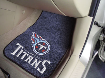 Tennessee Titans Car Mats Set/2