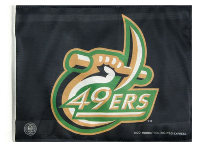 Charlotte 49ers Car Flag