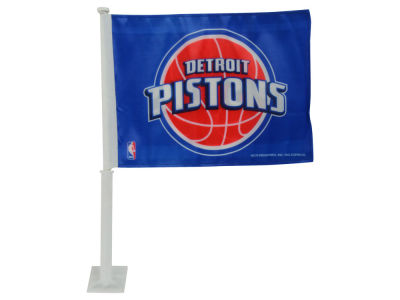 Detroit Pistons Car Flag