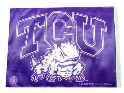 Texas Christian Horned Frogs Car Flag