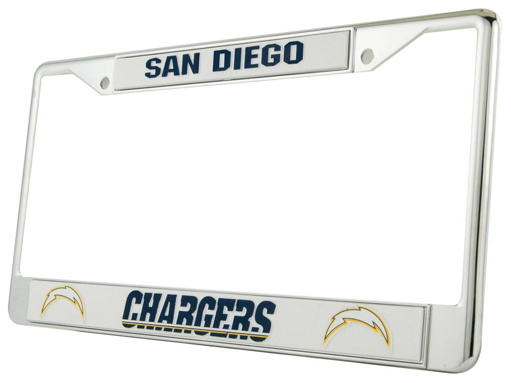 San Diego Chargers Chrome Frame | lids.com
