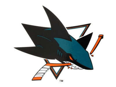 San Jose Sharks Static Cling Decal