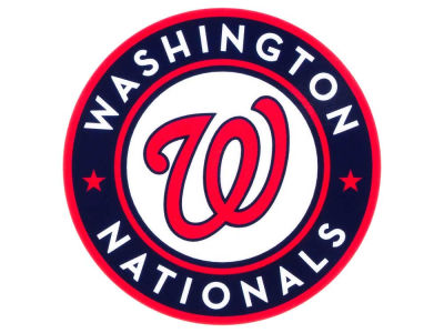 Washington Nationals Static Cling Decal