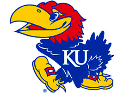 Kansas Jayhawks Static Cling Decal