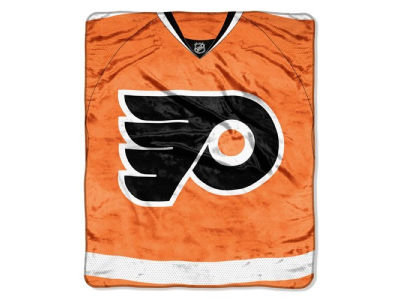 Philadelphia Flyers 50x60in Plush Throw Jersey