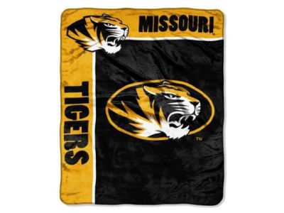 Missouri Tigers 50x60in Plush Throw Blanket