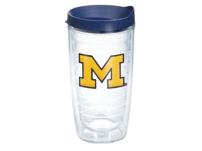 Michigan Wolverines 16oz Tervis Tumbler
