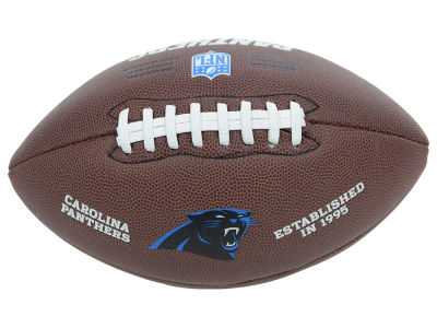 Carolina Panthers NFL Composite Football