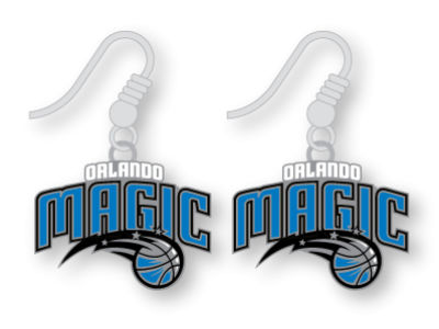 Orlando Magic Logo Earrings
