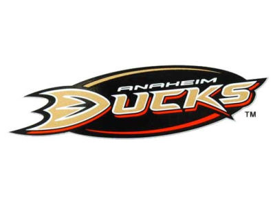 Anaheim Ducks Static Cling Decal