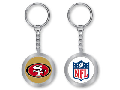 San Francisco 49ers Spinning Keychain