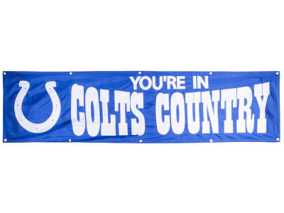 Indianapolis Colts 8-FT Banner
