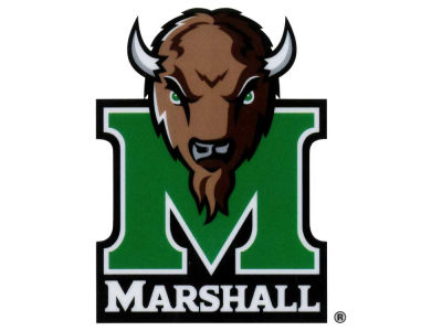 Marshall Thundering Herd Static Cling Decal