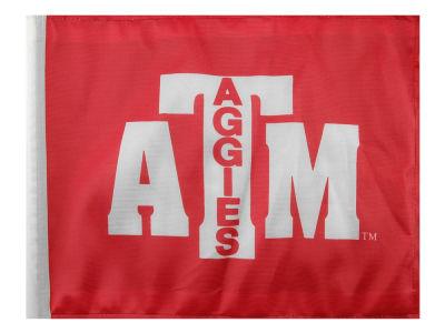 Texas A&M Aggies Car Flag