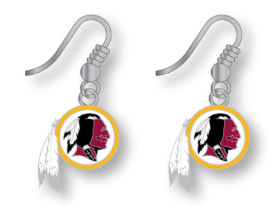 Washington Redskins Logo Earrings