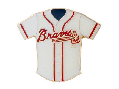 Atlanta Braves Aminco Jersey Pin