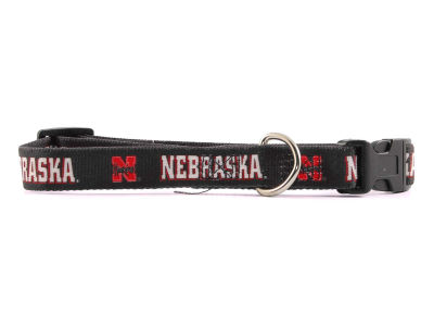 Nebraska Cornhuskers Large Dog Collar