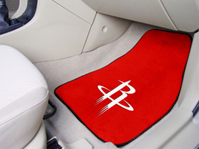 Houston Rockets Car Mats Set/2