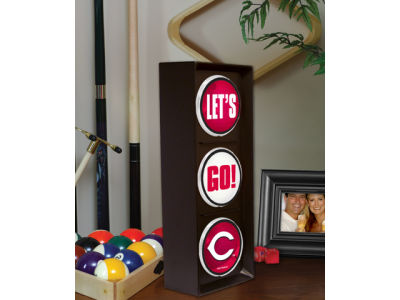 Cincinnati Reds Flashing Lets Go Light